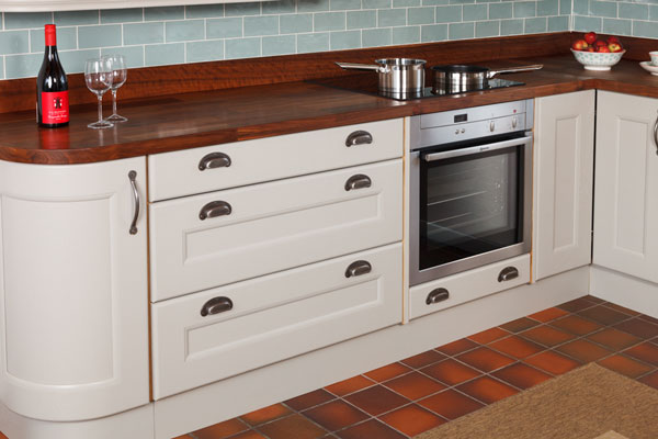 Keep your kitchen cupboards looking as good as these Traditional cabinets by ensuring you clean them appropriately