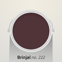 Farrow & Ball's Brinjal is one of our Colours of the Month.