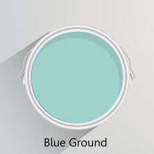 Colours of the month: Blue Ground for solid oak kitchen.