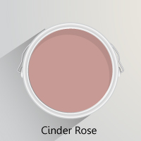 Farrow & Ball's Cinder Rose is the perfect paint for evoking spring florals