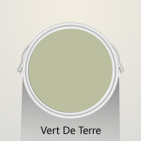 Vert de Terre by Farrow & Ball is a fresh and organic shade for solid wood kitchens