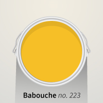 Babouche is an exotic yellow hue that is dignified, but never garish.
