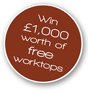 Win £1,000 of worktops with Worktop Express!