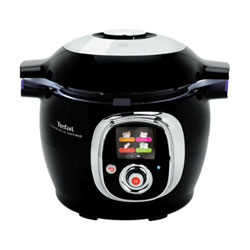 The Tefal Cook4Me Connect has Bluetooth and can cook food in as little as 3 minutes