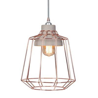 This copper and concrete light fitting from Red Candy is a striking option for any home