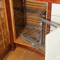 This corner cabinet is ideal for our magic basket corner solution wirework.