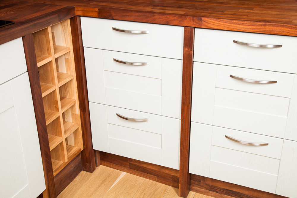 Kitchen Corner Storage Cabinets - Solid Wood Kitchen Cabinets