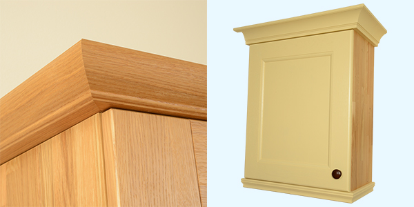 Cornice and pelmet collection now available solid wood for Solid wood cabinets company reviews