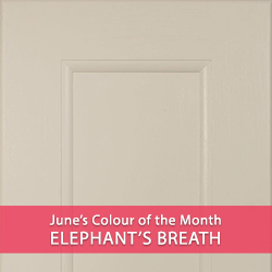 Solid Oak Kitchens in Elephant's Breath: June's Colour of the Month