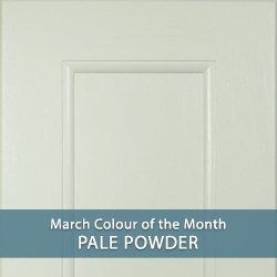 Pale Powder - March's Colour of the Month