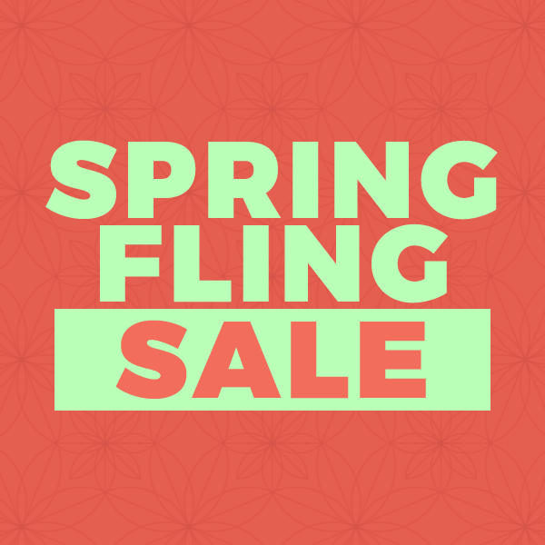 10% off in our Spring Fling Sale