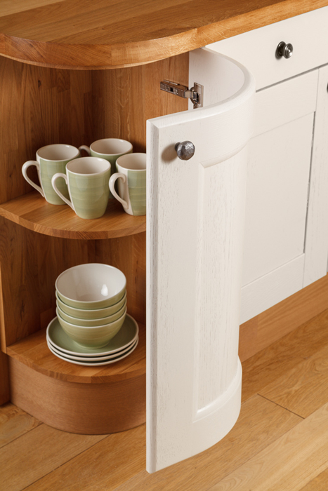 Cabinetry archives solid wood kitchen cabinets for Curved kitchen units uk