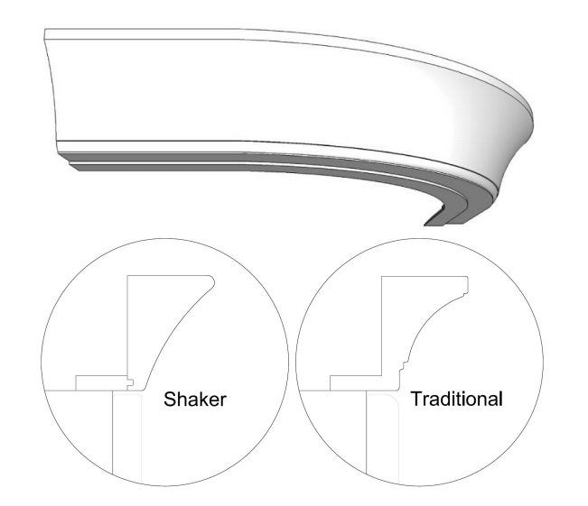 Kitchen Cabinet Cornice: Curved Cornice Assembly Guide
