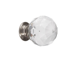 Crystal Glass Knob