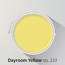 Farrow & Ball Dayroom Yellow swatch
