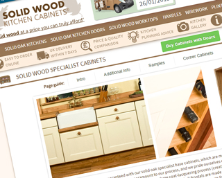 Solid Wood Kitchen Cabinets Order