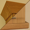 Solid oak Cornices  & Pelmets