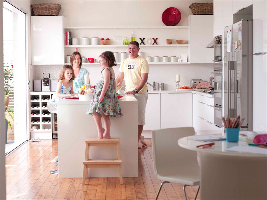 creating family friendly kitchens solid wood kitchen