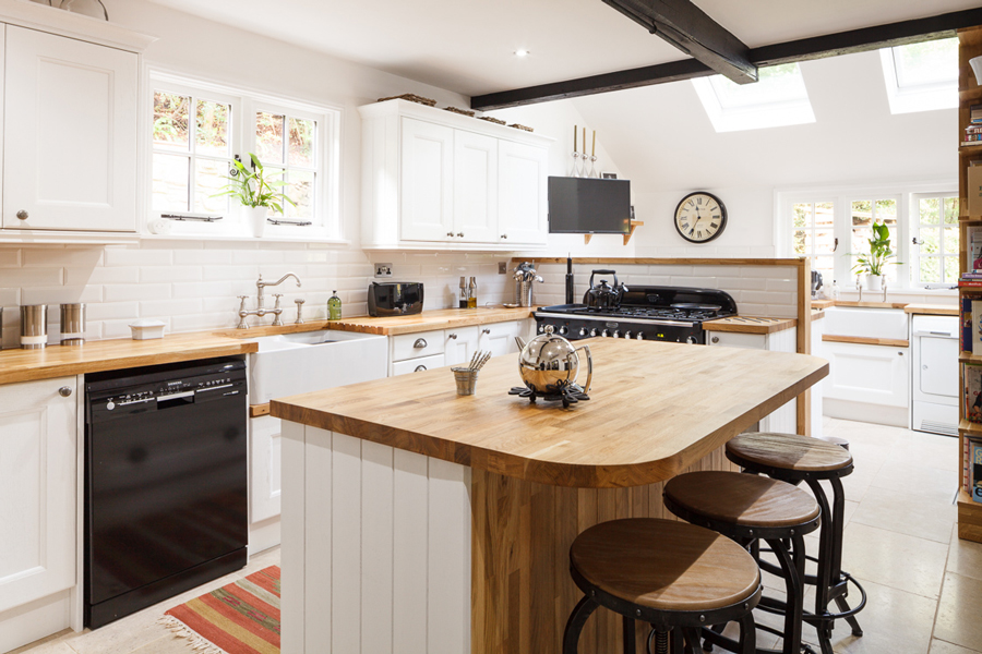Different Kitchen Styles For Solid Wood Solid Wood