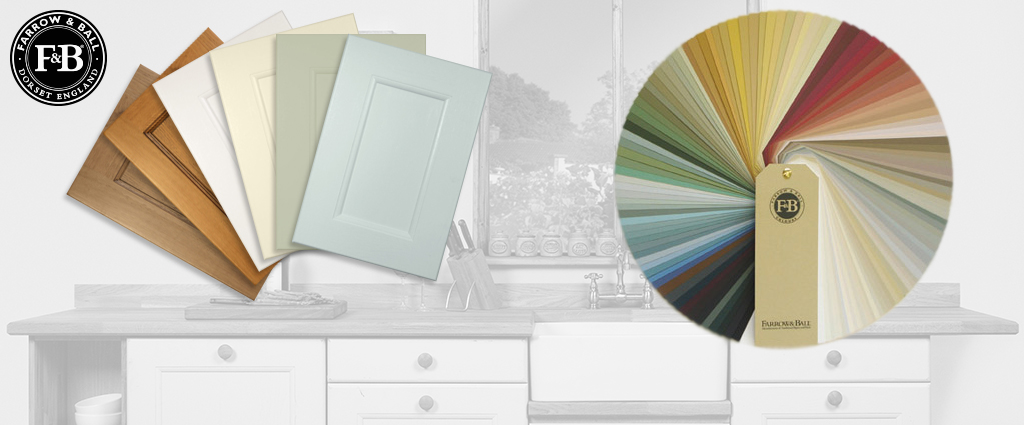 Whatever your kitchen design preference, you'll find something to suit in our stunning range of Farrow & Ball colours - we're happy to help with any bespoke colour requirements, too