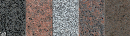 Various Granite Worktops