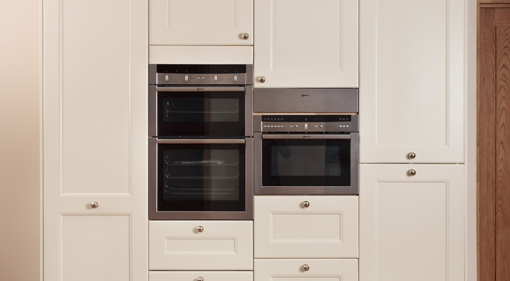 Tall Kitchen Larder Units & Storage Cabinets - Solid Wood Kitchen ...
