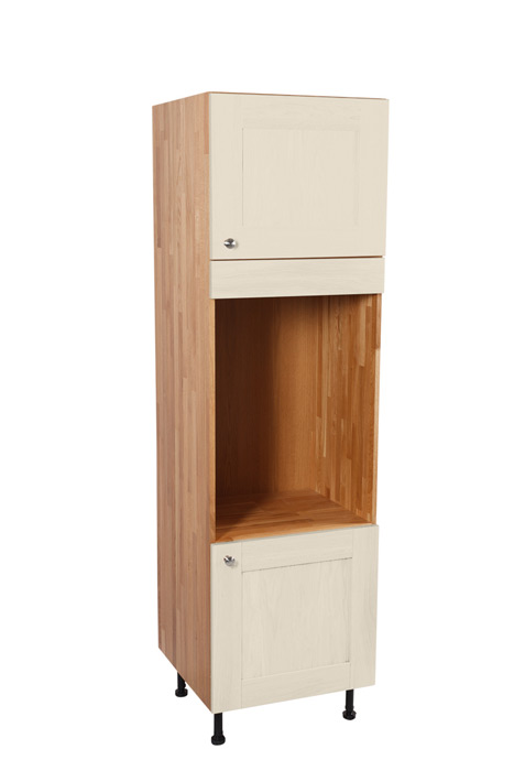 Wooden kitchen appliance housing cabinets solid wood for Kitchen cabinets 600mm