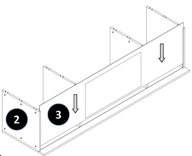 Full Height Oven Housing Cabinet Assembly Instructions - Step 5