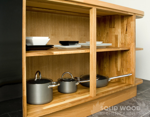 Solid Wood Kitchen Wall Units