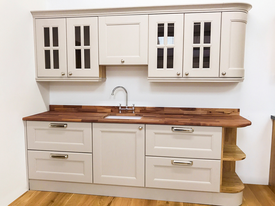 first scottish solid wood kitchen cabinets showroom launched in