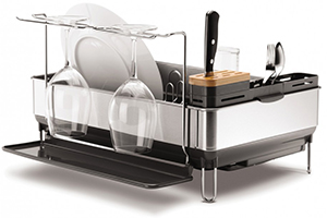 Steel Frame Dishrack from Simplehuman