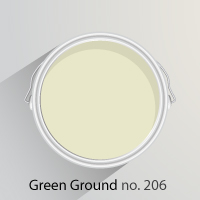 Green Ground is a pale, calming green