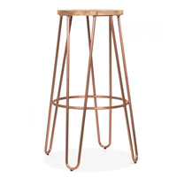 This Hairpin Stool is a stylish addition for any industrial style kitchen diner