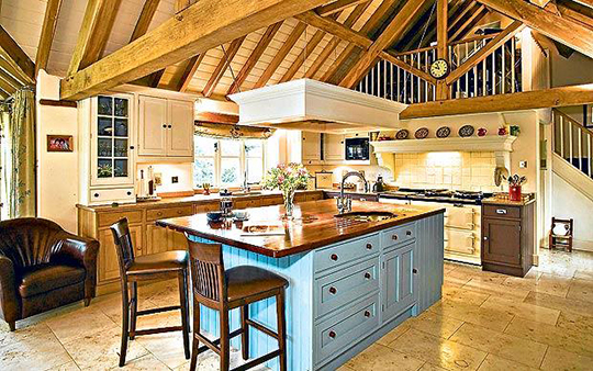 A Country Kitchen - Creating the Look