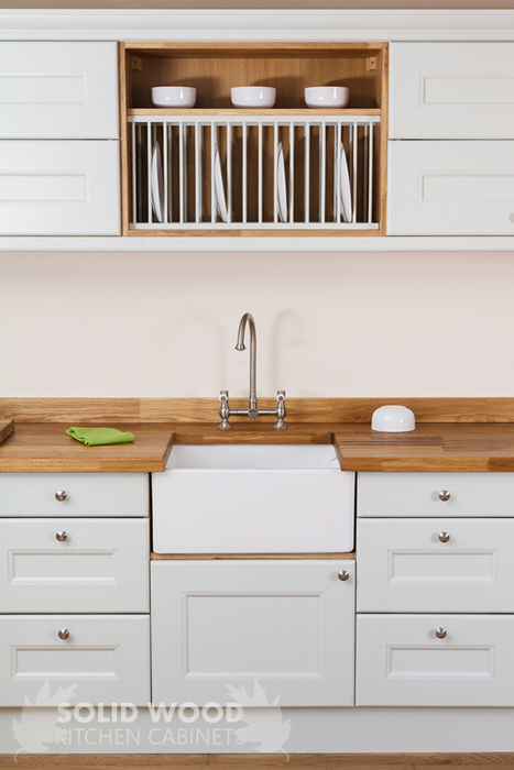 Solid wood kitchen cabinets information guides for Take away kitchen units