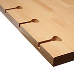 How to Fit a Kitchen: Wood Worktops for Solid Oak Kitchens