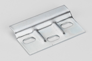 How to Fit a Kitchen: These attach to corresponding lever-bracket in the top corners of the cabinet
