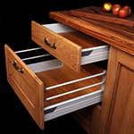 Solid Wood Kitchen Drawers