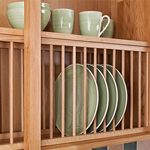 How to Install Oak Plate Racks