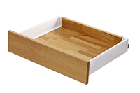 Intivo - Silk white single drawer