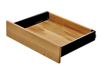 Intivo - Terra black single drawer