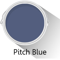 Colours of the Month: Pitch Blue