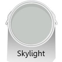 Colours of the Month: Skylight