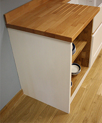 Solid Wood Kitchen Cabinets - Frontal Accessories