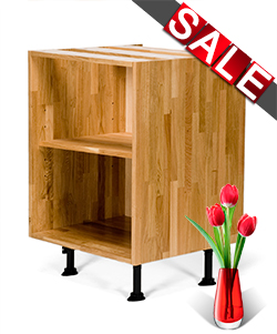 10% off Solid Wood Kitchen Cabinets