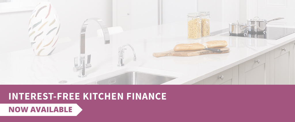 Spread the cost of your dream kitchen with our finance options