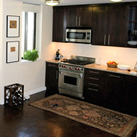 Kitchen Flooring - Solid Wood Kitchen Cabinets