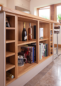 Kitchen Island - Storage is a key aspect