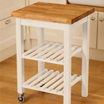 Our Kitchen Island Trolley is the perfect accessory for providing additional countertop space.