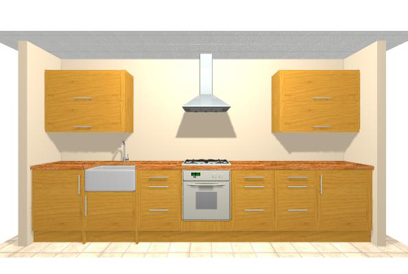 Solid Wood Kitchen Cabinets - Solid Oak Kitchen Price and Quality ...